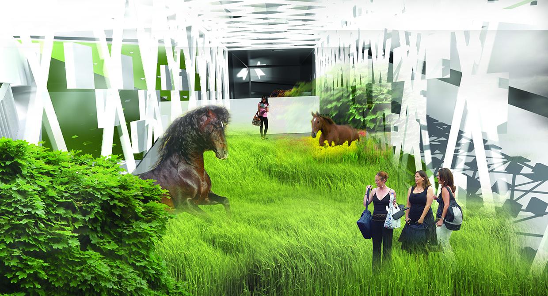 Музей естественной истории в Берлине. Перспектива. ©DMTRVK.RU