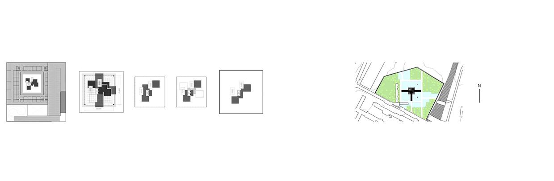 Схема генплана и площадей музея. ©DMTRVK.RU