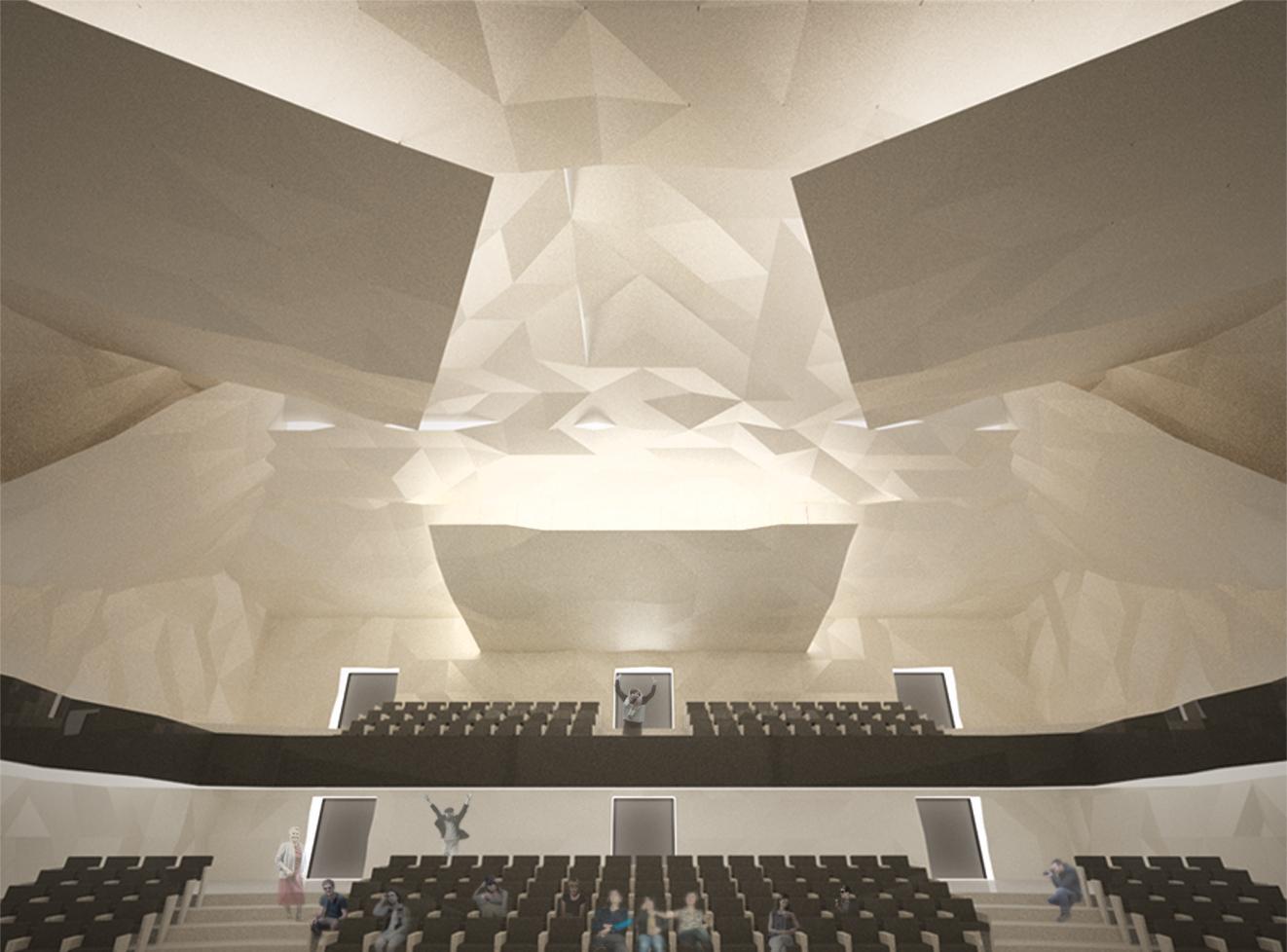 Интерьер главного зала. ©DMTRVK.RU