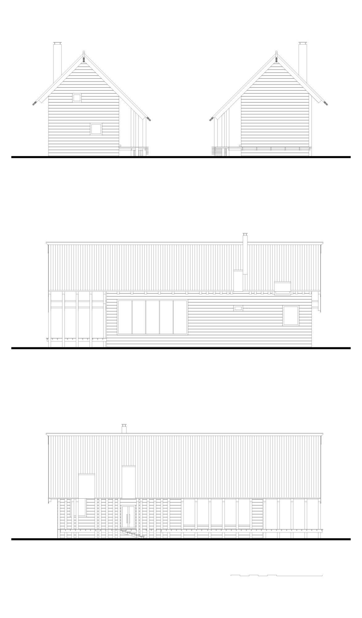 Дом на 200 м², концепция. ©DMTRVK