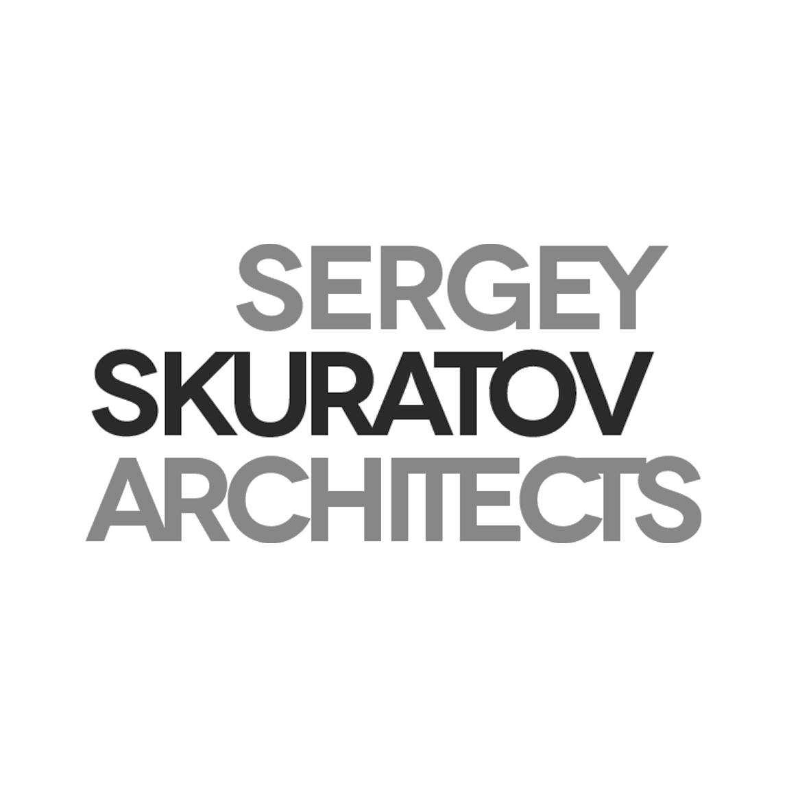 Логотип бюро Sergey Skuratov Architects.