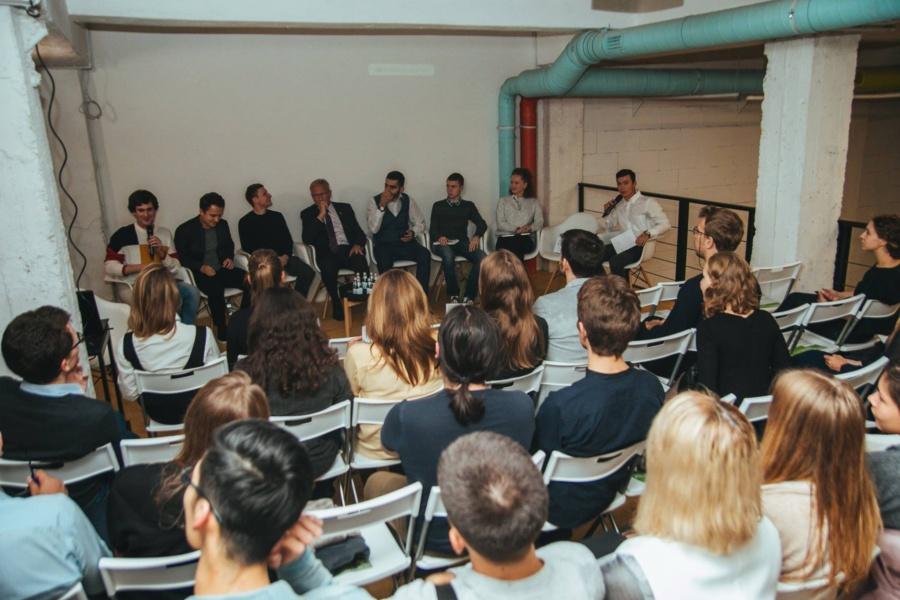 Участники дискуссии «Проверка на практике». Фото © Москомархитектура