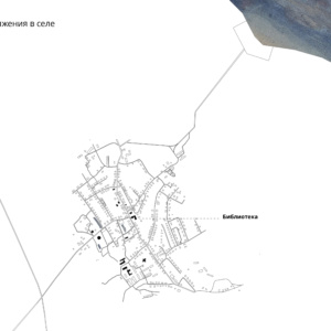 Архитектурная концепция развития села Кубенского. Анализ. ©DMTRVK