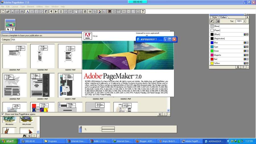 Adobe PageMaker.