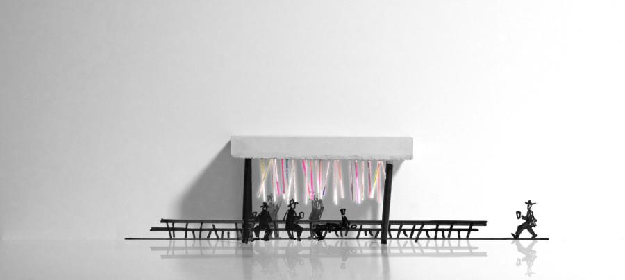 Концепция ресторана «Рюмочная в конце света». ©DMTRVK.RU