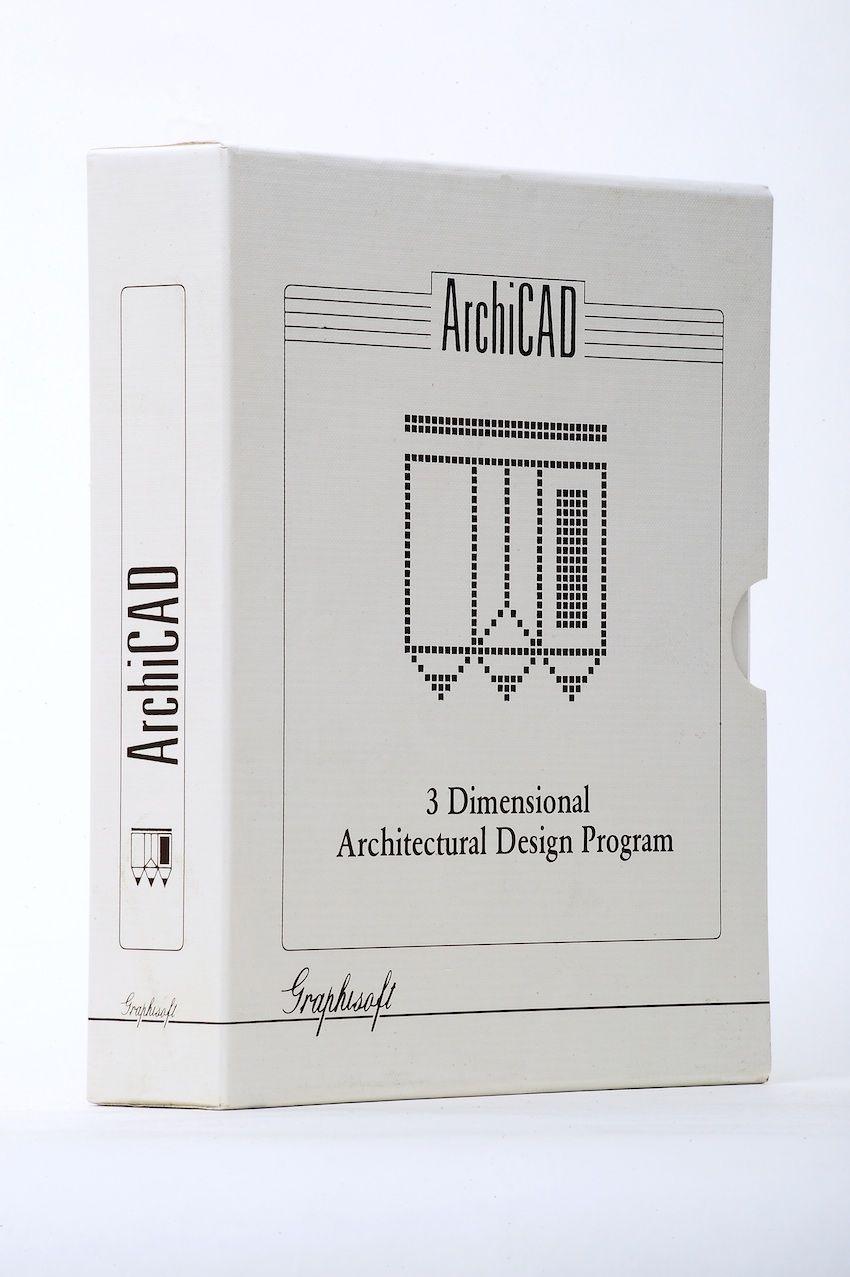 ArchiCAD 4 (кажется)...