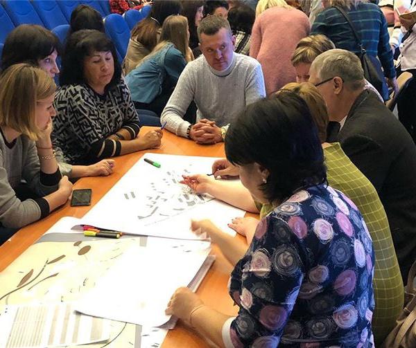 Проектный семинар в Лянторе, ноябрь 2019. Фотография: Центр компетенций Югры.
