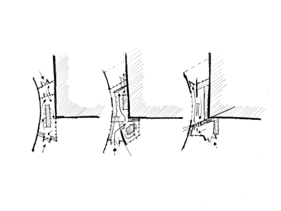 Варианты планировок модуля «Банный лист». ©DMTRVK