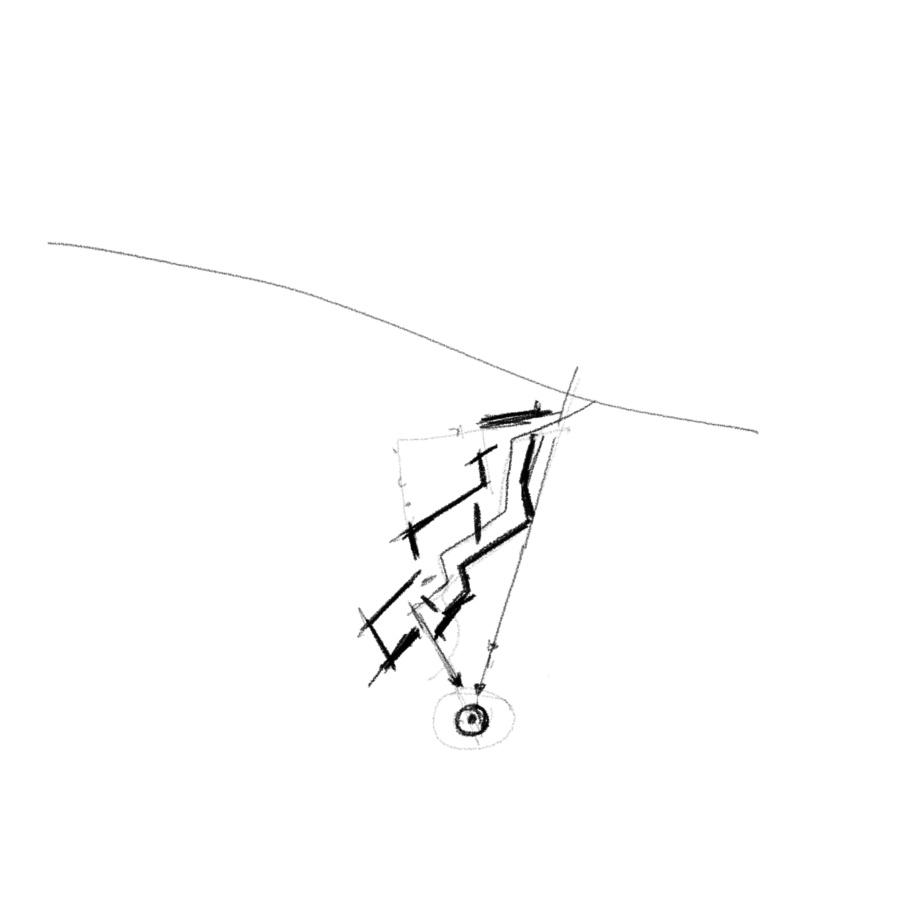 Схема плана основного этажа — основные видовые векторы